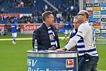 10.04.2019, Schauinsland-Reisen-Arena, Duisburg, GER, 2. FBL, MSV Duisburg vs. 1. FC Koeln,<br />  <br /> DFL regulations prohibit any use of photographs as image sequences and/or quasi-video<br /> <br /> im Bild / picture shows: <br /> Joachim Llambi<br /> Tänzer, Moderator Let´s Dance ist im Stadion als Fan und Experte <br /> Foto © nordphoto / Meuter