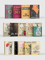 Complete set James Bond books inscribed by Fleming sale £500k