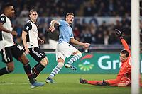 Sergej Milinkovic Savic of Lazio scores a goal<br /> Roma 07-12-2019 Stadio Olimpico <br /> Football Serie A 2019/2020 <br /> SS Lazio - Juventus FC<br /> Photo Cesare Purini / Insidefoto