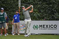 Lucas Bjerregaard (DEN) watches his tee shot on 3 during round 3 of the World Golf Championships, Mexico, Club De Golf Chapultepec, Mexico City, Mexico. 2/23/2019.<br /> Picture: Golffile | Ken Murray<br /> <br /> <br /> All photo usage must carry mandatory copyright credit (© Golffile | Ken Murray)