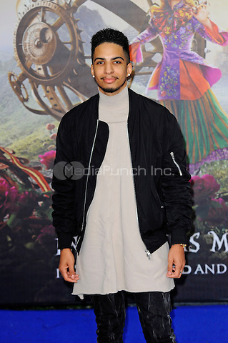 LONDON, ENGLAND - MAY 10: Troy Von Scheibner attending the 'Alice Through The Looking Glass' European Premiere at Odeon Cinema, Leicester Square in London. on May 10, 2016 in London, England.<br /> CAP/MAR<br /> &copy; Martin Harris/Capital Pictures /MediaPunch ***NORTH AND SOUTH AMERICA ONLY***