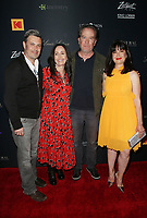 LOS ANGELES, CA -APRIL 9: Carlos Bernard, Timothy Hutton, Pamela B. Green, at Los Angeles Premiere Be Natural: The Untold Story of Alice Guy- Blach&eacute; at Harmony Gold Theater in Los Angeles, California on April 9, 2019.<br /> CAP/MPIFS<br /> &copy;MPIFS/Capital Pictures