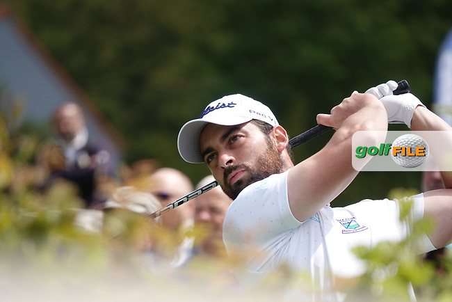 Thomas Linard (FRA) in action during the third round of the Hauts de France-Pas de Calais Golf Open, Aa Saint-Omer GC, Saint- Omer, France. 15/06/2019<br /> Picture: Golffile | Phil Inglis<br /> <br /> <br /> All photo usage must carry mandatory copyright credit (© Golffile | Phil Inglis)