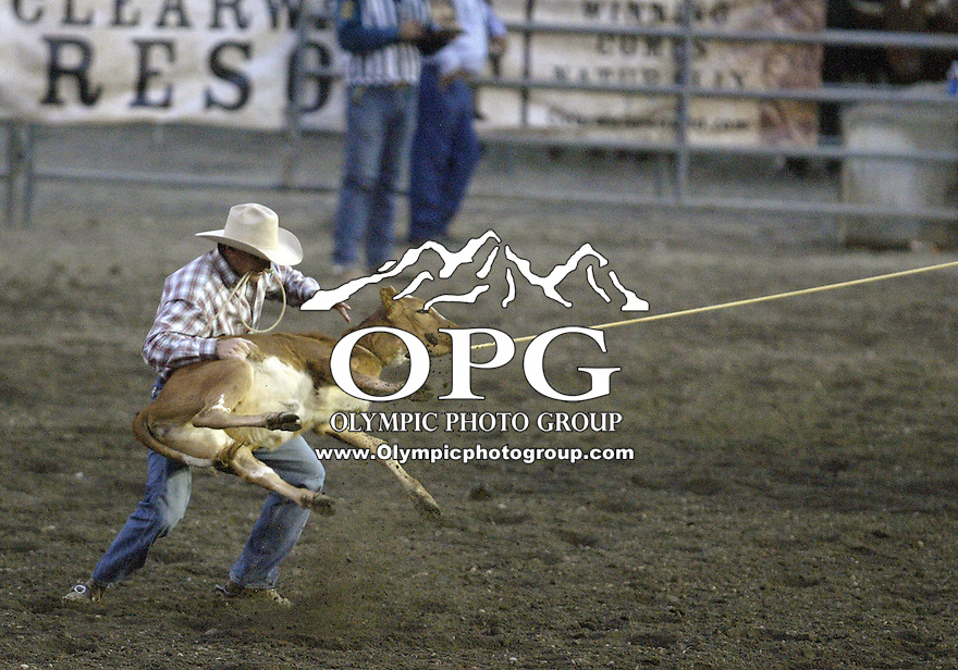 28 Aug 2009:   Tim Pharr scored a time of 17.5 in the Tie Down Roping competition at the Kitsap County Wrangler Million Dollar PRCA Pro Rodeo Tour in Bremerton, Washington.