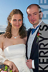 Kinga Juhasz, Hungary/London and Tom Dillon, Ballingarry/London who held their first wedding reception at The Listowel Arms Hotel last Saturday.   Copyright Kerry's Eye 2008