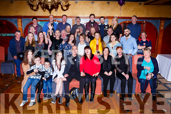 Gerard Maye Torc Terrace Killarney celebrated his 50th birthday with his family and friends in the Killarney Avenue Hotel on Saturday night