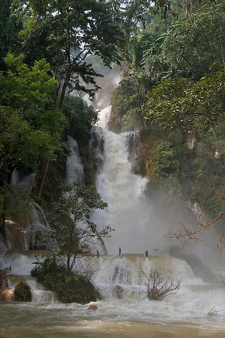 Kuang Si Waterfall approx 30KM from Luang Prabang, Laos