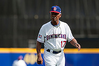 7 March 2009: Team manager of the Dominican Republic Felipe Alou is seen during the 2009 World Baseball Classic Pool D match at Hiram Bithorn Stadium in San Juan, Puerto Rico. Netherlands pulled off a huge upset in their World Baseball Classic opener with a 3-2 victory over Dominican Republic.