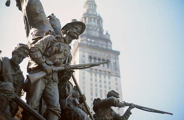 Old soldier monument