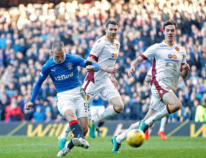 Kenny Miller scores his second goal