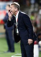 Liechtenstein's coach Rene Pauritsch during FIFA World Cup 2018 Qualifying Round match. September 5,2016.(ALTERPHOTOS/Acero)