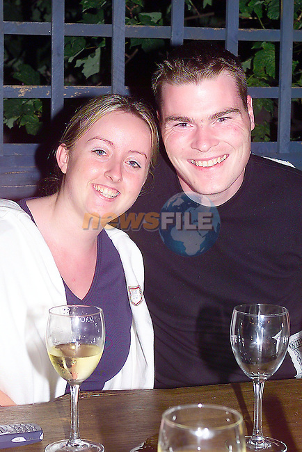 Sarah Quinn and David Winters in the Black Bull.Photo Fran Caffrey/Newsfile.ie..This picture has been sent to you by:.Newsfile Ltd,.3 The View,.Millmount Abbey,.Drogheda,.Co Meath..Ireland..Tel: +353-41-9871240.Fax: +353-41-9871260.GSM: +353-86-2500958.ISDN: +353-41-9871010.IP: 193.120.102.198.www.newsfile.ie..email: pictures@newsfile.ie..This picture has been sent by Fran Caffrey.francaffrey@newsfile.ie