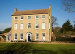 High House Farm, Georgian farmhouse building, Bawdsey, Suffolk, England