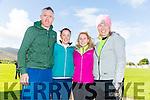 Aidan McCarthy, Breda Slattery, Karina Slattery and Andrea O' Donoghue  at the Tony O'Donoghue Memorial Walk at St Pat's GAA Club on Sunday