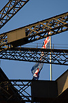 Sydney, New South Wales, Australia; Australian flag atop the Sydney Harbor Bridge © Matthew Meier, matthewmeierphoto.com All Rights Reserved