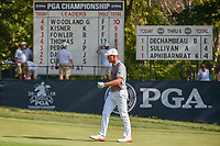 Bryson DeChambeau (USA) approaches the green on 9 during 2nd round of the 100th PGA Championship at Bellerive Country Club, St. Louis, Missouri. 8/11/2018.<br /> Picture: Golffile | Ken Murray<br /> <br /> All photo usage must carry mandatory copyright credit (© Golffile | Ken Murray)