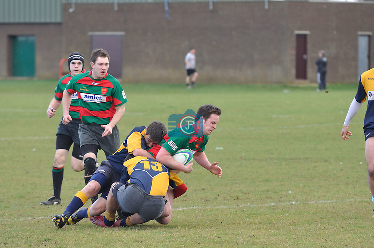 Stamford College Old Boys RFC v Thorney RUFC on Sturday 3rd March 2012
