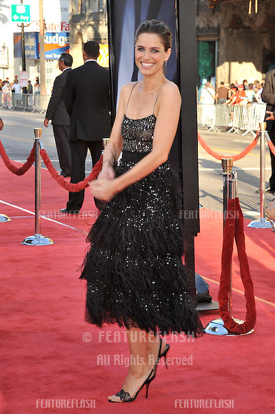 """Amanda Peet at the world premiere of her new movie """"The X-Files: I Want To Believe"""" at Grauman's Chinese Theatre, Hollywood..July 23, 2008  Los Angeles, CA.Picture: Paul Smith / Featureflash"""