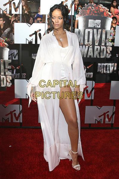13 April 2014 - Los Angeles, California - Rihanna. 2014 MTV Movie Awards held at Nokia Theatre L.A. Live. <br /> CAP/ADM<br /> &copy;AdMedia/Capital Pictures