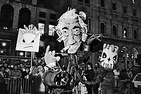 - Milano, manifestazione contro il licenziamenti alla fabbrica di automobili Alfa Romeo (settembre 1986)....- Milan, demonstration against dismissals at Alfa Romeo car factory (September 1986)