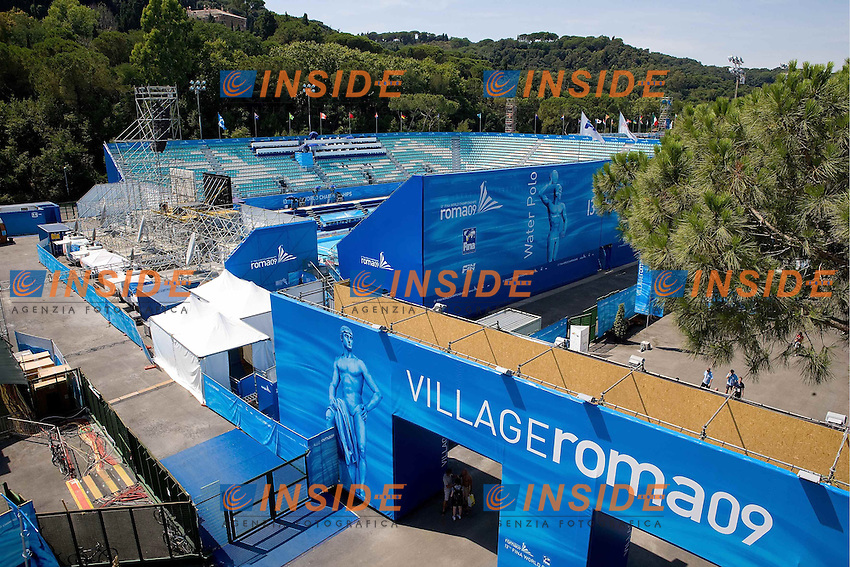 Roma 31st July 2009 - 13th Fina World Championships ..From 17th to 2nd August 2009..VILLAGE ROMA 09..Roma2009.com/InsideFoto/SeaSee.com