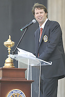USA Team Captain Paul Azinger during the opening ceremony on Practice Day2 of the Ryder Cup at Valhalla Golf Club, Louisville, Kentucky, USA, 18th September 2008 (Photo by Eoin Clarke/GOLFFILE)