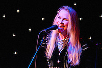 ASBURY PARK, NJ - JANUARY 18: Kate Taylor performs with Denny Laine at Light of Day 2013 at McLoone's Supper Club in Asbury Park, NJ. January 18, 2013. © Kristen Driscoll/MediaPunch Inc. /NortePhoto