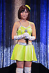 Adult film actress Kizuna Sakura attends the Japan Adult Expo 2015 on November 17, 2015, Tokyo, Japan. 69 film production companies, novelty goods makers and over a hundred AV actresses will attend the second annual two day expo in Toyosu Pit from November 17 to 18. Organizers aim to give fans the opportunity to meet their idols. (Photo by Rodrigo Reyes Marin/AFLO)