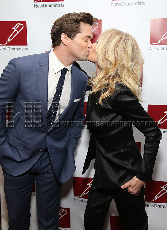 Andrew Rannells and Judith Light attend The New Dramatists' 68th Annual Spring Luncheon at the Marriott Marquis on May 16, 2017 in New York City.