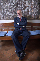 Andrea Riccardi, founder of the Community of Sant'Egidio. January 5, 2018