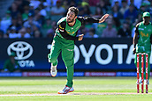 10th February 2019, Melbourne Cricket Ground, Melbourne, Australia; Australian Big Bash Cricket, Melbourne Stars versus Sydney Sixers;  Glenn Maxwell of the Melbourne Stars bowls