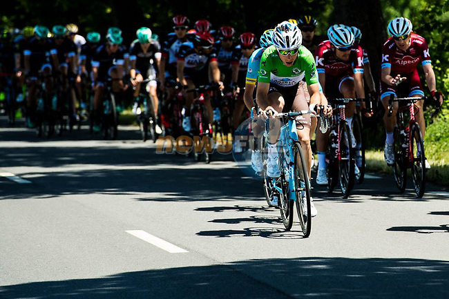 Axel Domont (FRA) AG2R La Mondiale during Stage 2 of the Criterium du Dauphine 2017, running 171km from Saint-Chamond to Arlanc, France. 5th June 2017. <br /> Picture: ASO/A.Broadway | Cyclefile<br /> <br /> <br /> All photos usage must carry mandatory copyright credit (&copy; Cyclefile | ASO/A.Broadway)
