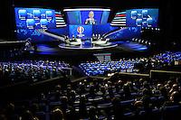 23.02.2013. Nice, France. UEFA Drawing fo the 2016 UEFA EURO Championships.