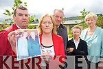 The family of the late Ellan Rowan are 'outraged' at the HSE decision to use nearly half the beds at the new community hospital for rehabilitation rather than for the long-term care of the elderly as was planned. .L-R PJ, Patsy and John Rowan along with Cllr Mairead Fearnane and Joan O'Mally of the Tralee Hospital campaign group.