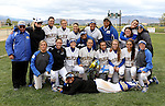 Players and coaches at the Sophomore Day celebration after the first game of the Western Nevada College softball doubleheader on Saturday, April 30, 2016 at Pete Livermore Sports Complex. Photo by Shannon Litz/Nevada Photo Source