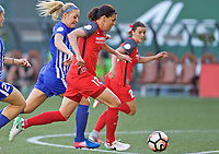 Portland, OR - Saturday May 27, 2017: Christine Sinclair during a regular season National Women's Soccer League (NWSL) match between the Portland Thorns FC and the Boston Breakers at Providence Park.