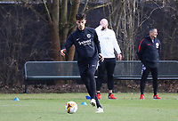 Lucas Torro (Eintracht Frankfurt) - 20.02.2019: Eintracht Frankfurt Training, UEFA Europa League, Commerzbank Arena, DISCLAIMER: DFL regulations prohibit any use of photographs as image sequences and/or quasi-video.