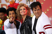 NEW YORK, NY- OCTOBER 31: Hoda Kotb as John Travolta with Carson Daly and Savannah Guthrie as Danny and Sandy from Grease at NBC's Today Show Annual Halloween Episode at Rockefeller Center in New York City on October 31, 2019. credit: RW/MediaPunch