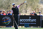 Bo Van Pelt (USA) in action during Day 2 of the Accenture Match Play Championship from The Ritz-Carlton Golf Club, Dove Mountain, Thursday 24th February 2011. (Photo Eoin Clarke/golffile.ie)