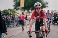 Jens Keukeleire (BEL/Lotto-Soudal) rolling in<br /> <br /> Stage 7: Fougères > Chartres (231km)<br /> <br /> 105th Tour de France 2018<br /> ©kramon