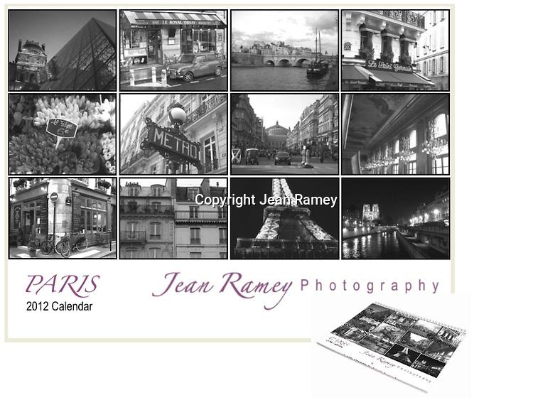 Paris Limited Edition Calendar 2012