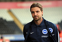 Tim Krul arrives prior to the game during the Premier League match between Swansea City and Brighton and Hove Albion at The Liberty Stadium, Swansea, Wales, UK. Saturday 04 November 2017