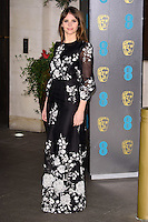 Felicity Jones at the 2017 EE British Academy Film Awards (BAFTA) After-Party held at the Grosvenor House Hotel, London, UK. <br /> 12 February  2017<br /> Picture: Steve Vas/Featureflash/SilverHub 0208 004 5359 sales@silverhubmedia.com