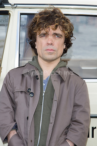 Peter Dinklage attending the Taxi photocall held at Fischmarkt, Hamburg, Germany, 14.04.2014. <br /> Photo by Christopher Tamcke/insight media /MediaPunch ***FOR USA ONLY***