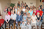 SURPRISE SURPRISE: Regina Roche, Gallowsfield (seated centre) got a big surprise when a large group of family and friends came together to celebrate her 40th birthday at the Greyhound bar on Thursday..   Copyright Kerry's Eye 2008