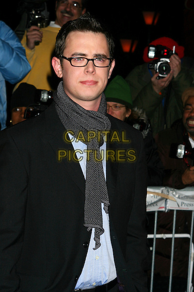 The 2005 National Board Of Review Of Motion Pictures at Tavern on the Green in New York. January 10,2006 Colin Hanks