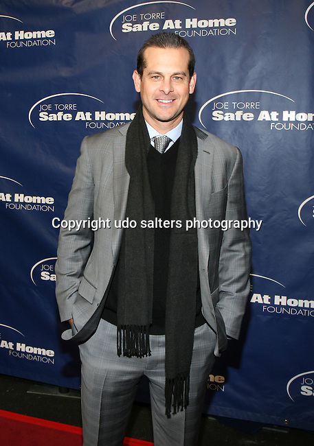 Former MBL Player Aaron Boone Attends the 11TH ANNIVERSARY OF THE JOE TORRE SAFE AT HOME FOUNDATION HELD A CHELSEA PIERS SIXTY, NY