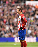 Atletico de Madrid´s Antoine Griezmann during 2015/16 La Liga match between Real Madrid and Atletico de Madrid at Santiago Bernabeu stadium in Madrid, Spain. February 27, 2016. (ALTERPHOTOS/Javier Comos)