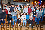 Members of the Tralee Rowing club enjoying a night out in the Ashe Hotel on Saturday night.