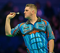 12th March 2020; M and S Bank Arena, Liverpool, Merseyside, England; Professional Darts Corporation, Unibet Premier League Liverpool; Daryl Gurney during his night six match against Glen Durrant